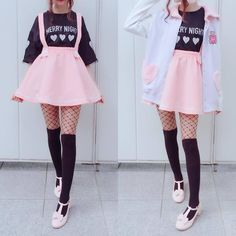 clothes cute kawaii / clothes cute _ clothes cute outfits _ clothes cute casual _ clothes cute kawaii _ clothes cute dresses _ clothes cute for school _ clothes cute summer _ clothes cute edgy Pastel Goth Fashion, Kawaii Fashion, Lolita Fashion, Cute Fashion, Girl Fashion, Pastel Goth Clothes, Gothic Fashion, Pastel Goth Shoes, Skater Fashion