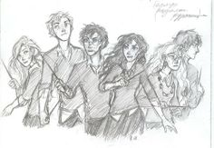 Harry Potter by ~drakonarinka on deviantART