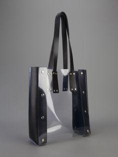 Yuzefi Clear Tote Bag