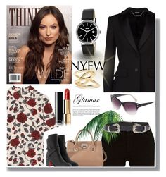 """""""The City Life Style"""" by sherryphoenix on Polyvore featuring River Island, Alexander McQueen, Ganni, Jimmy Choo, Christian Louboutin, Diane Von Furstenberg, ASOS, Jennifer Fisher and Chanel"""