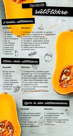 Real Food Recipes, Soup Recipes, Vegetarian Recipes, Cooking Recipes, Yummy Food, Healthy Recipes, Hungarian Recipes, Health Eating, Pumpkin Recipes