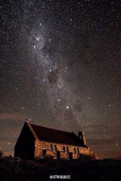 Tekapo, New Zealand.
