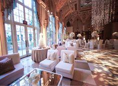 the wedding lounge  & reception area.