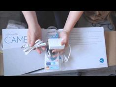 Silhouette Cameo V2 deutsch auspacken, unboxing