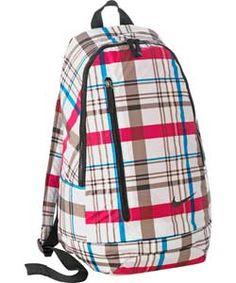 Nike Check Backpack - Black.