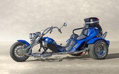 BOOM Trike Mustang ST-1 - House of Thunder