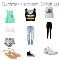 """"""""""" by aranzabiebs ❤ liked on Polyvore featuring Hanky Panky, Glamorous, Genetic Denim, Converse, Steve J & Yoni P, Givenchy and Accessorize"""