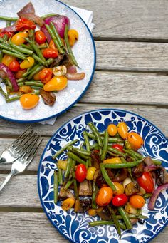 Grilled Balsamic Vegetables @valeriemousseau