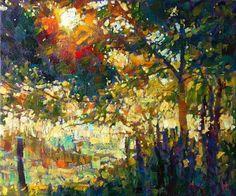 Sunlit Tree by Hashim Akib