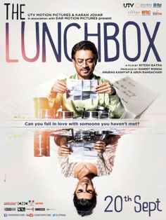 The Lunchbox is a 2013 Indian epistolary romantic film written and directed by Ritesh Batra, and produced by Guneet Monga, Anurag Kashyap, and Arun Rangachari.  It stars Irrfan Khan, Nimrat Kaur and Nawazuddin Siddiqui in lead roles. The film was screened at International Critics' Week at the 2013 Cannes Film Festival, and later won the Critics Week Viewers Choice Award. #thelunchbox #bollywood #movies #poster #film #cinema #design