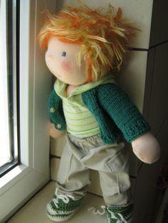 Waldorf doll waldorf inspired doll steiner doll organic by bemka Love it, shoes too :)