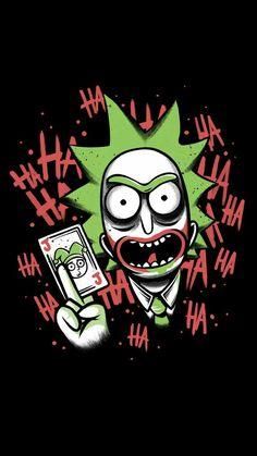 《Rick Sanchez as Joker》