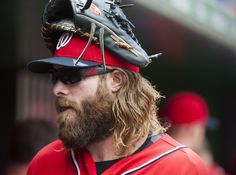 Jayson Werth in court is exactly what you'd imagine Jayson Werth in court to be like