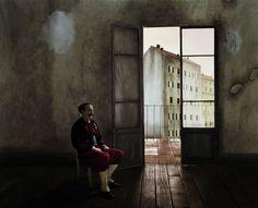 by Paolo Ventura lo zuavo scomparso Contemporary Photography, Contemporary Art, Art Advisor, Environmental Portraits, Fantasy World, Color Photography, Figure Painting, Architecture Art, Diorama