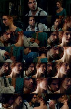 Ross and Demelza collage - click through for large size