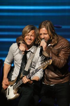 Brotherly Love and Respect! Tim & Jon Foreman of Switchfoot.