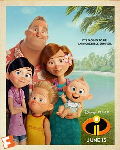 Exclusive #Incredibles2 Poster when you buy tix through Fandango