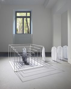 COS fashion brand installation by Nendo, Milan   Italy  showroom store design