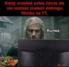 Very Funny Memes, True Memes, Wtf Funny, Polish Memes, Zero Two, History Memes, The Witcher, Reaction Pictures, Book Worms