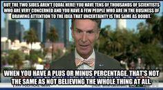 Bill Nye on climate change