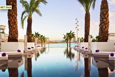 pool, W hotel, Barcelona...
