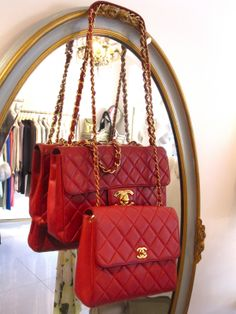 Red Fever :) Chanel Bag♥