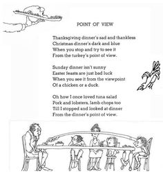<3 Point of View <3 From Where the Sidewalk Ends by Shel Silverstein #MyVeganJournal <3