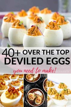 Looking for the best deviled egg recipes, including deviled eggs with bacon?, Food And Drinks, Looking for the best deviled egg recipes, including deviled eggs with bacon? These over the top recipes will have you begging for more. Deep Fried Deviled Eggs, Shrimp Deviled Eggs, Deviled Eggs With Bacon, Deviled Egg Dip, Healthy Deviled Eggs, Avocado Deviled Eggs, Perfect Deviled Eggs, Classic Deviled Eggs, Devilled Eggs Recipe Best