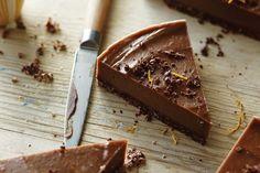 Raw Vegan Chocolate Orange Torte - Go Dairy Free