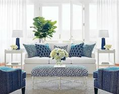 Living Room Design : Navy And White Family Room Living Decoration Of Light Blue D Decoration Of Light Blue Living Room Design ~ Something-fishy Coastal Living Rooms, Home Living Room, Living Room Furniture, Living Room Designs, Furniture Layout, Apartment Living, White Furniture, Apartment Furniture, Apartment Design
