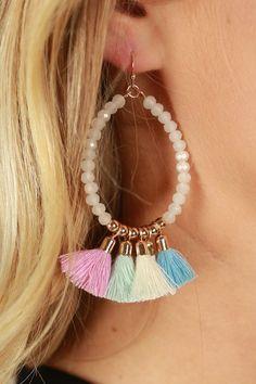 Margarita Vacay Earrings in Violet