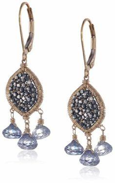 Dana Kellin Oxidized Sterling Silver and Blue Quartz Mosaic Earrings DANA KELLIN,http://www.amazon.com/dp/B00GN0HX3S/ref=cm_sw_r_pi_dp_bvdRsb0GJ780FGF9