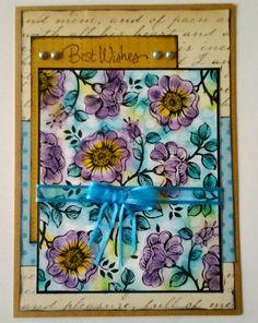 CC491 Floral wallpaper
