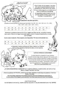 La Catequesis (El blog de Sandra): Explicación sencilla Qué es la Fe para los niños