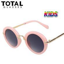 Round Kids Sunglasses Girls Vintage Retro Sunglass Brand Designer Sun glasses Children Oculos De Sol Outdoor Hipster Gafas (China (Mainland))