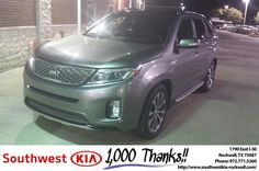 https://flic.kr/p/NVwAMf   Southwest KIA Rockwall Customer Review   Working with Chris was a joy.  Process was easy and painless.  Michelle, deliverymaxx.com/DealerReviews.aspx?DealerCode=TYEE&R...