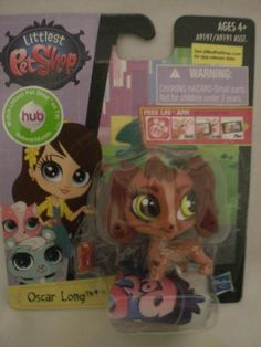 Doxie lovers and little girls love this guy. Littlest Pet Shop  - Oscar Long Dachsund Doxie Dog Puppy NIP #3655 #Hasbro