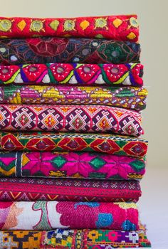 Inspiration- Colourful printed fabrics!