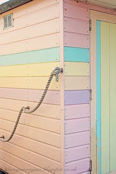 The Villa on Mount Pleasant, pastel beach hut. Maybe I could do this in pastel hues of green, turquoise and blue? Soft Colors, Pastel Colors, Colours, Pastel Decor, Panorama Instagram, Imagenes Color Pastel, Pastel Palette, Mount Pleasant, Pastel Shades