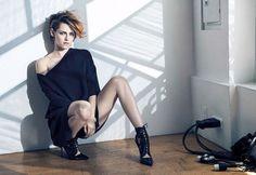 Kristen Stewart's Stunning Covershoot For Vanity Fair France via @WhoWhatWear