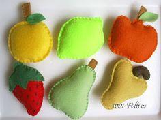 1001 Feltros: frutas