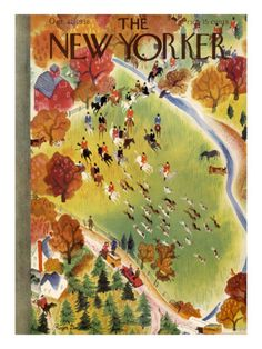 The New Yorker Cover - October 22, 1938 Poster Print by Roger Duvoisin at the Condé Nast Collection