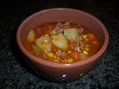 Healthy Harvest Soup....hands down the best soup I have ever had....EVER! Healthy comfort food! This is the best soup for all occasions! I take it to parties and get togethers and people rave about how delicious it is! Now I need to go make some! YUM! :)
