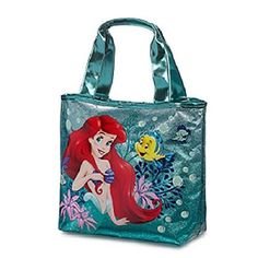 The little mermaid is more popular than ever which is why mermaid home décor is a hot trend in home decoration. You can appreciate Disney's Ariel mermaid by using it to decorate your kid's bedroom. This is a great girls room idea. Use Little mermaid wall clocks, little mermaid beach towels and Little Mermaid curtains to make a whimsical fantasy world for your daughter or granddaughter.    Disney Store Princess Ariel Swim Bag Tote The Little Mermaid