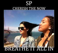 Cherish the now --- Breathe it all in | mbti esfp, isfp, estp, istp. sp meme lol funny humor