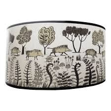 Image result for illustrated lamp shades