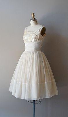 1950s Among Angels dress, $350    https://www.etsy.com/listing/101519649/50s-wedding-dress-chiffon-1950s-wedding