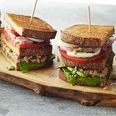 No-cook hearty dinner with this great twist on tuna sandwiches. Well - you do have to boil eggs or buy them boiled in the produce sections of your grocery store. Nicoise Salad Sandwiches