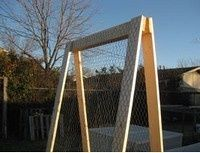 For Tomatoes? > Build an A-Frame Vegetable Trellis for Small Footprint Gardening