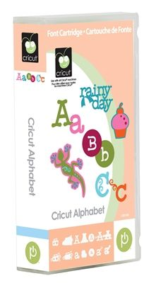 Cricut® Alphabet Cartridge - Cricut Shop